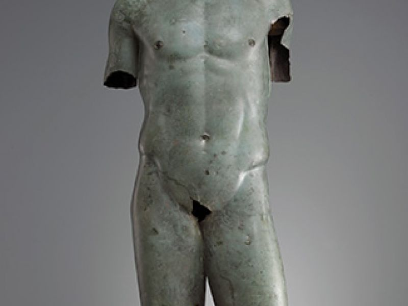 A bronze torso of a youth Vani, 2nd century BC, GNM: 2:996-43