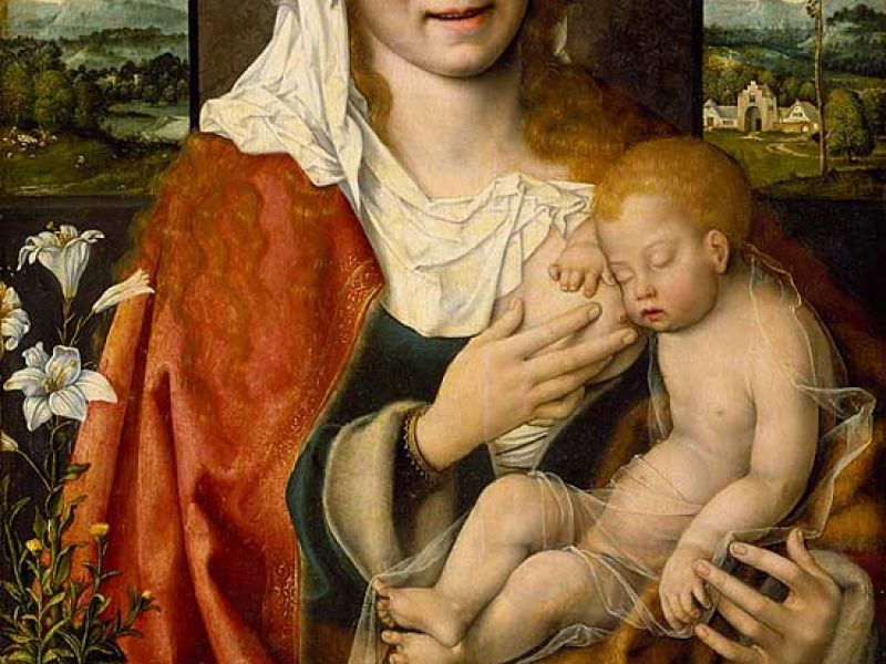 Virgin and Child, c.1528