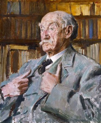 Thomas Hardy, 1923, by Augustus John, 1879–1961