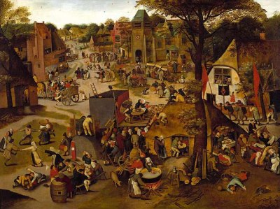 A Village Festival in honour of St. Hubert and St. Anthony