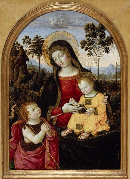 Featured image for the project: Virgin and Child with St John the Baptist