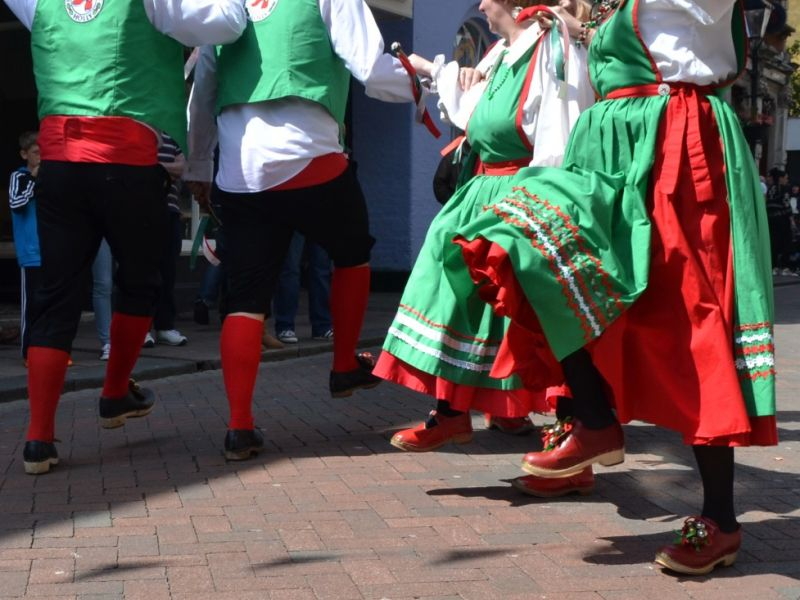 A highlight image for The Hertfordshire Holly Morris Dancers