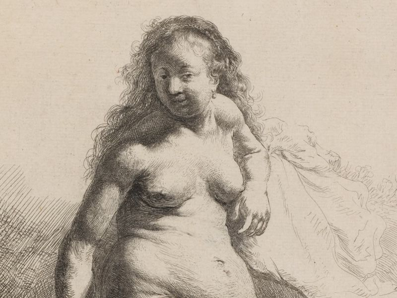 Highlight image for Rembrandt and the nude