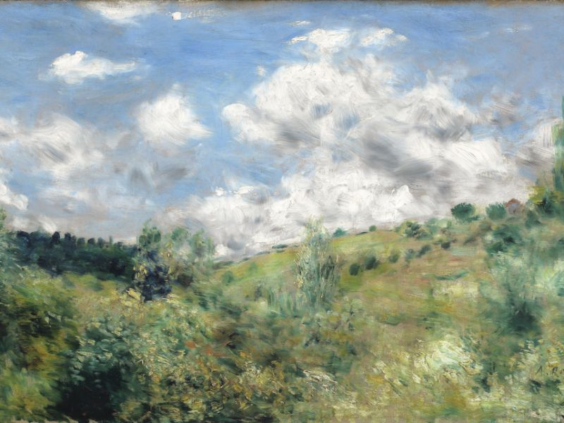 The Gust of Wind - Renoir