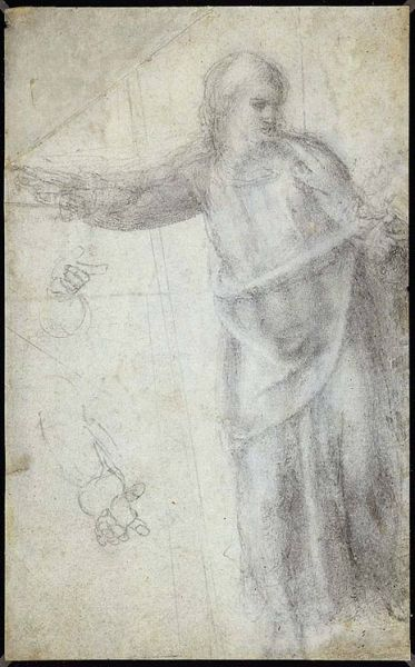 Featured image for the project: Study for a Figure of Christ