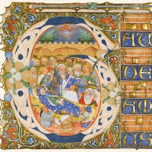 A segment of a manuscript