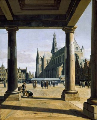 The Great Church at Haarlem, 1674