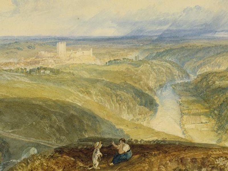 J. M. W.Turner,  Richmond, Yorkshire