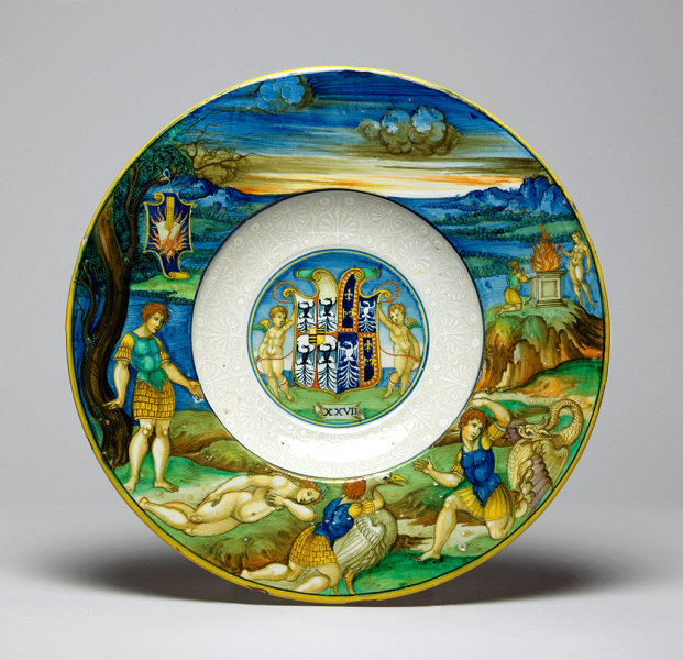 Featured image for the project: Dish from the Isabella d'Este Service