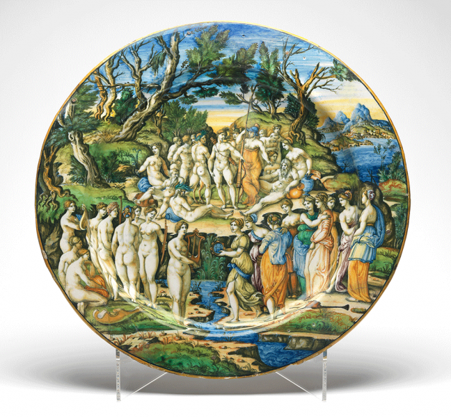 Featured image for the project: The Contest between the Muses and the Pierides