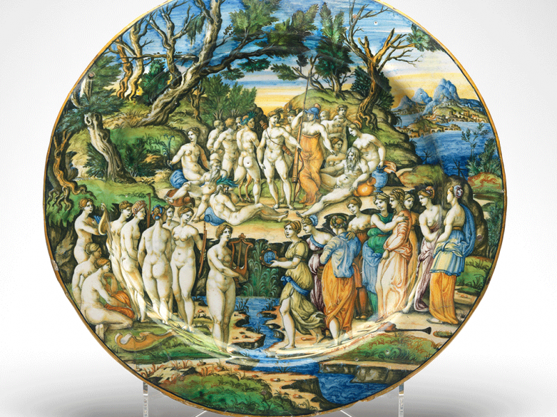 The Contest between the Muses and the Pierides