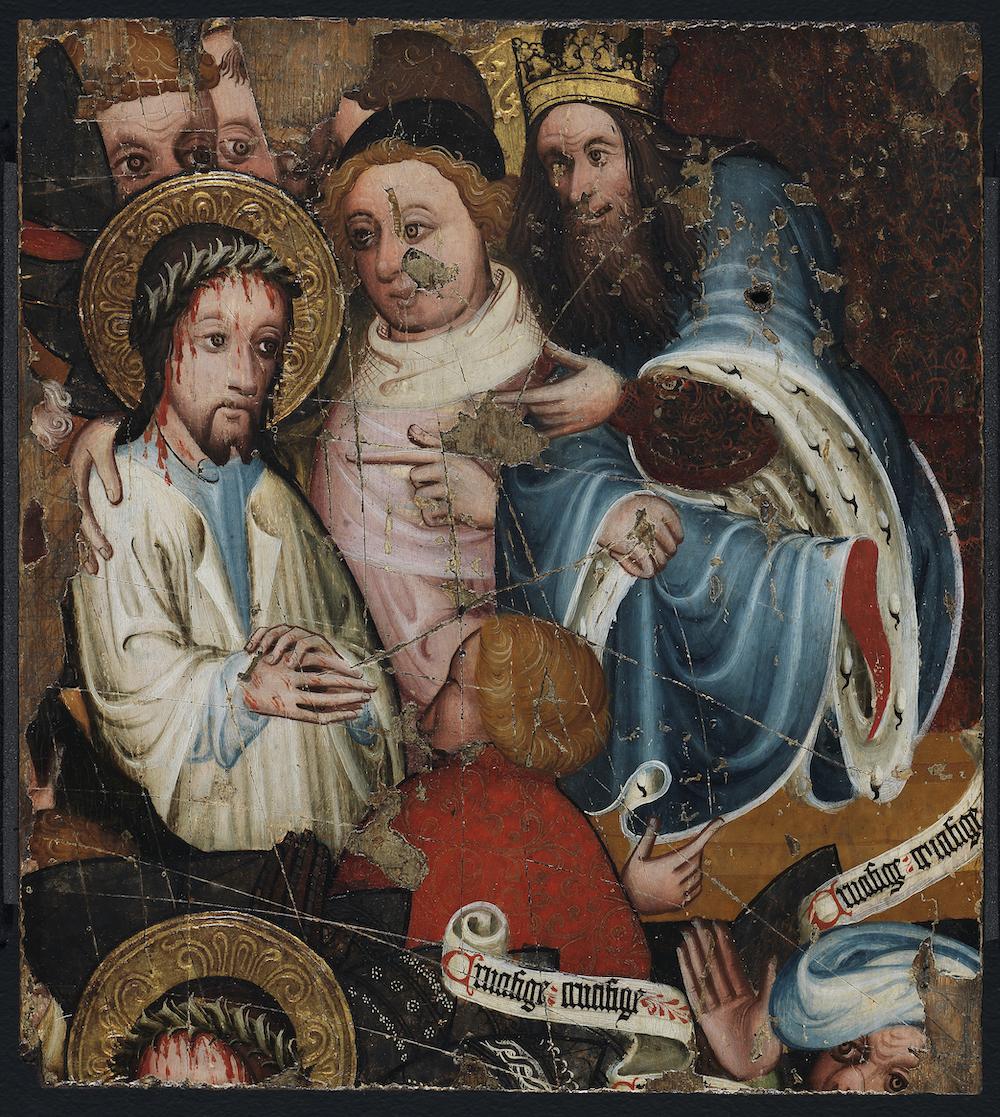 Jesus before Pilate: The Fitzwilliam Museum
