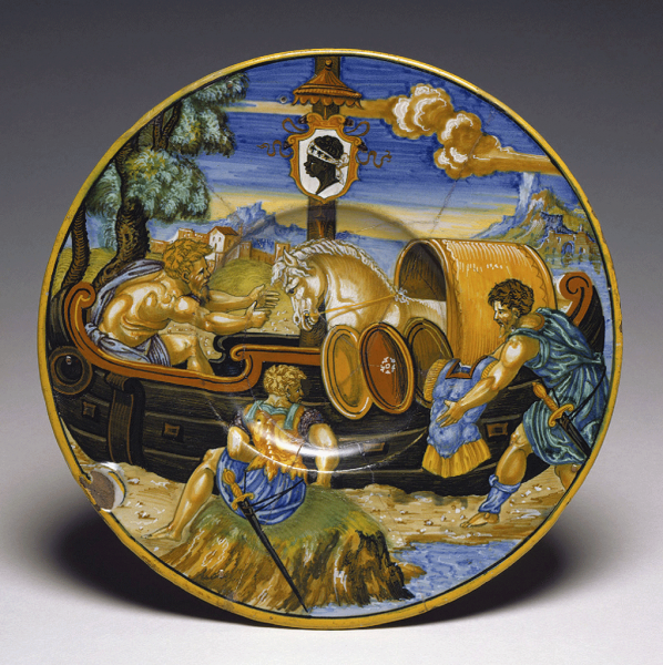 Featured image for the project: Dish from the Pucci Service