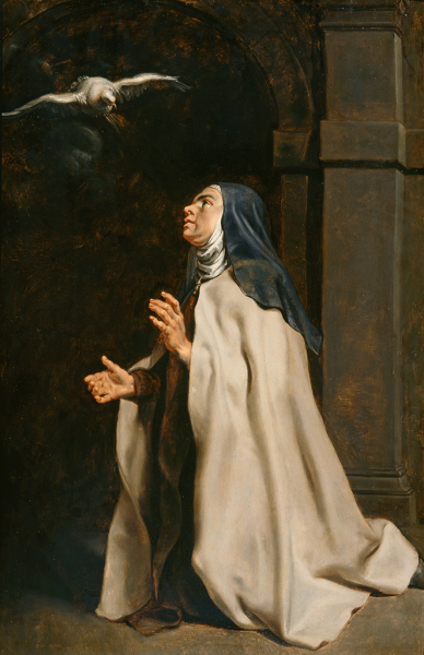 Featured image for the project: Teresa of Avilà's Vision of the Dove