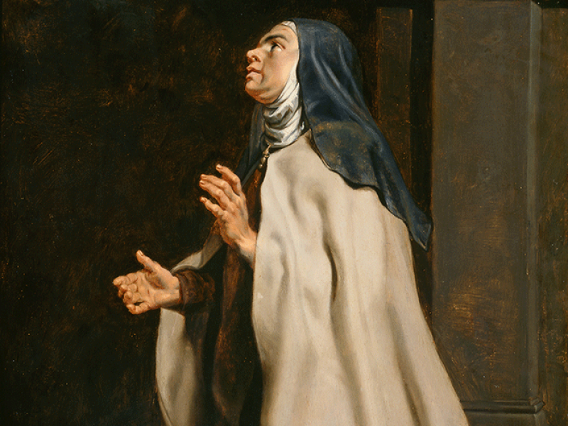 Teresa of Avilà's Vision of the Dove