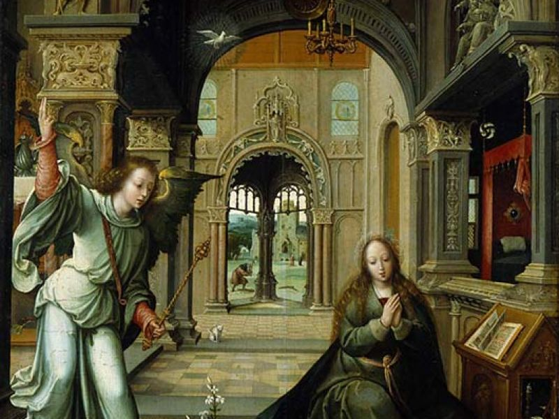 Highlight image for *The Annunciation*