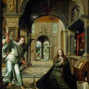 An early sixteenth-century Flemish Annunciation