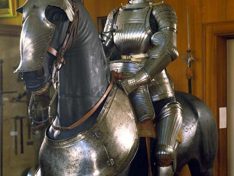 Horse and rider set of armour from Germany