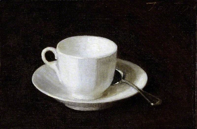 Featured image for the project: White cup and saucer