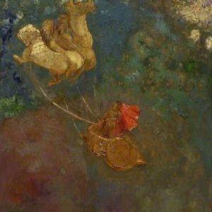 The Chariot of Apollo: Odilon Redon (1840–1916)