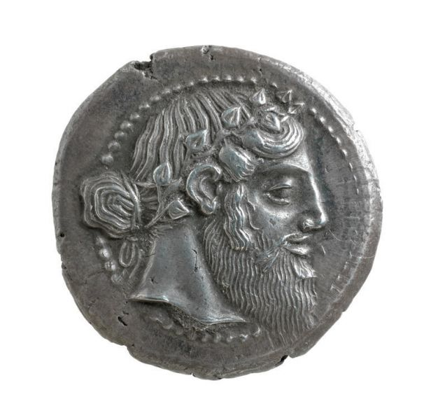 Featured image for the project: Four drachma piece from Naxos