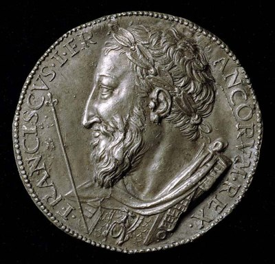 Medal of Francis I King of France,