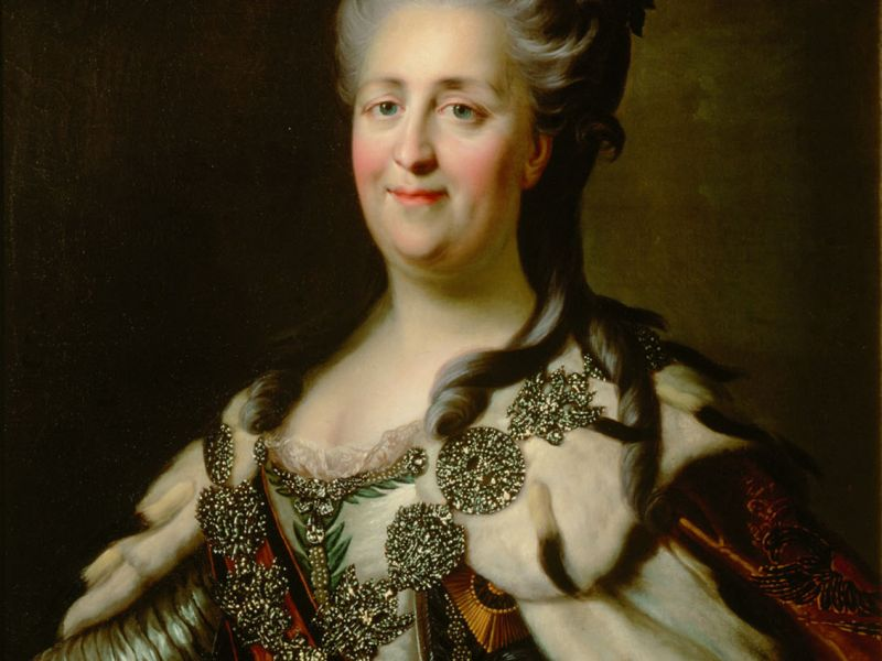 Highlight image for Catherine II, Empress of Russia