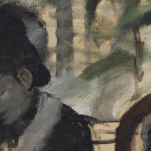 Edgar Degas (1834-1917), At the Café, c.1875 – 7 (detail)