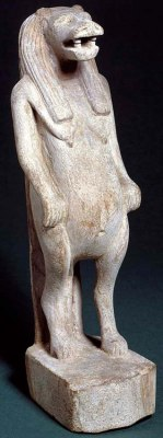 Statue of the goddess Taweret
