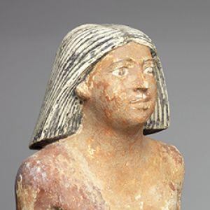 Figurine head