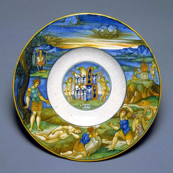 Featured image for the project: Maiolica dish