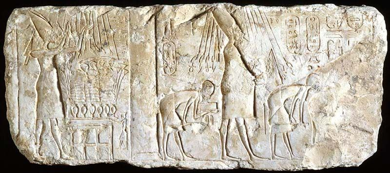 Featured image for the project: Relief of the Heretic King Akhenaten