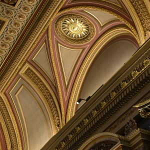 The Museum's founder's entrance ceiling