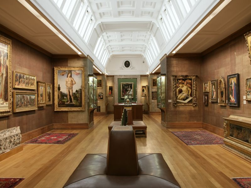 Interior of gallery 6 - the Upper Marley - seen from gallery 3