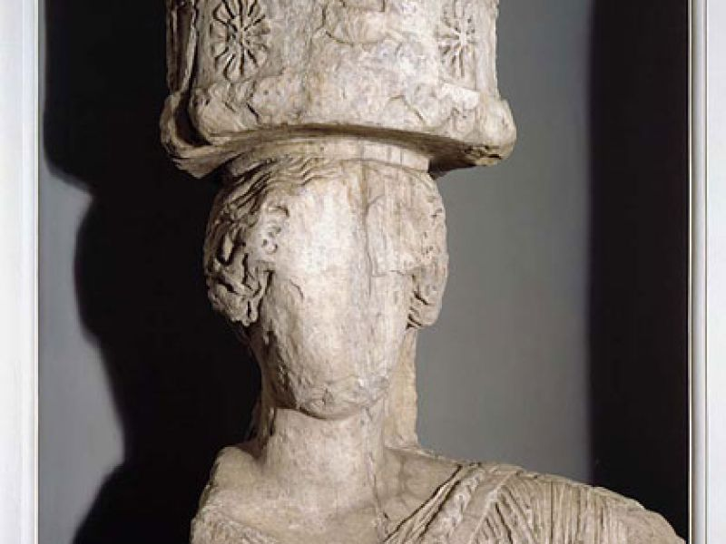 A Greek Caryatid from Attica