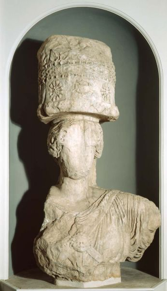 Featured image for the project: Caryatid from the Temple of Demeter