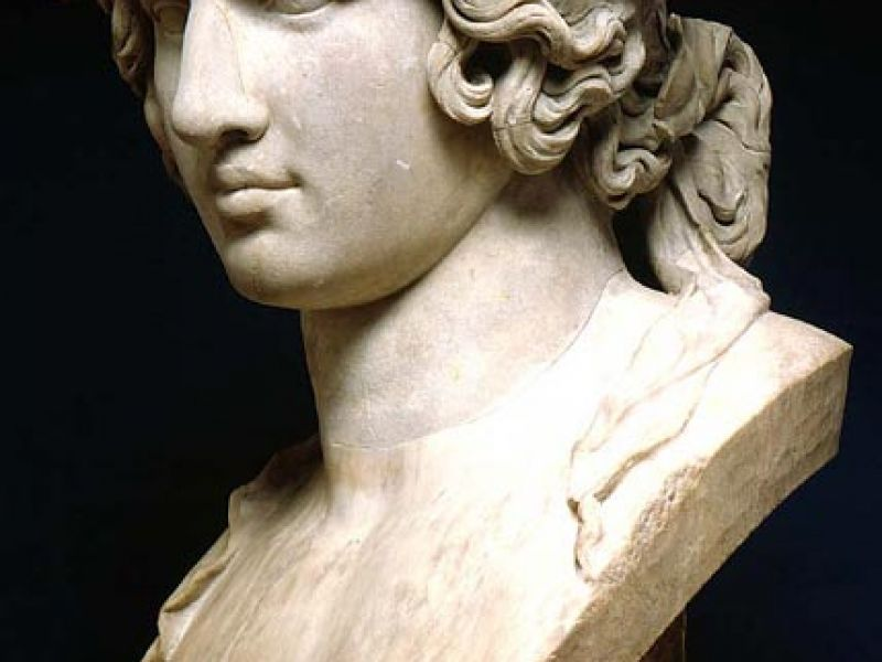 Bust of Antinous as Dionysos