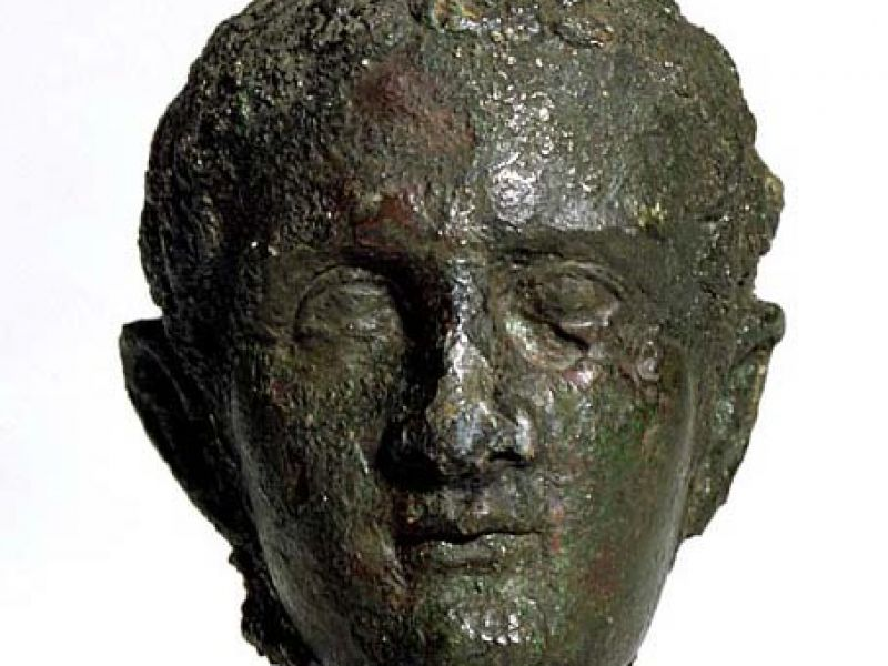 A bust of the emperor Caligula