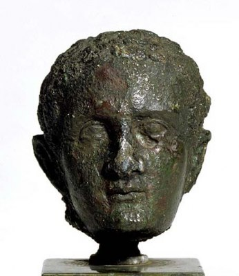 A bust of the emperor Caligula