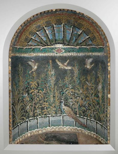 Featured image for the project: Roman mosaic niche