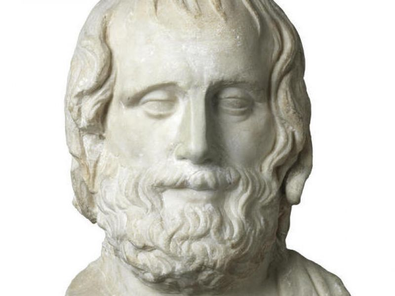 A bust of Euripides (GR.2.1966)