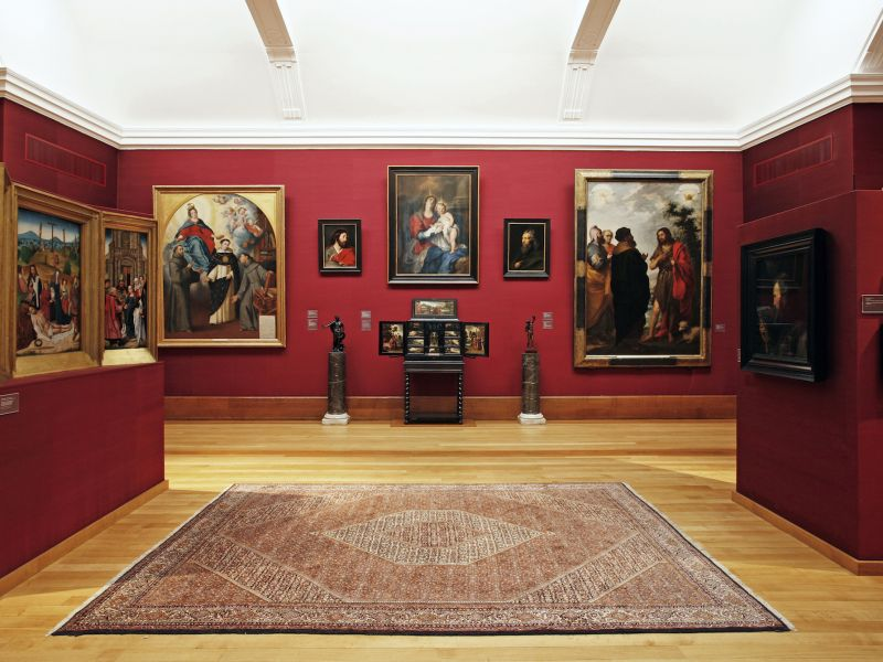 Interior of Gallery 8