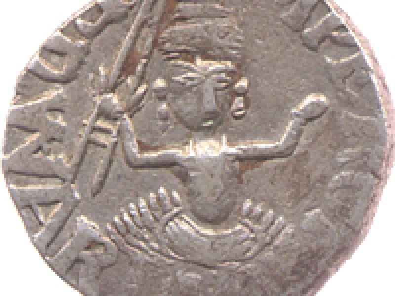 Bundi, in the name of Edward VII (1901–10), silver rupee
