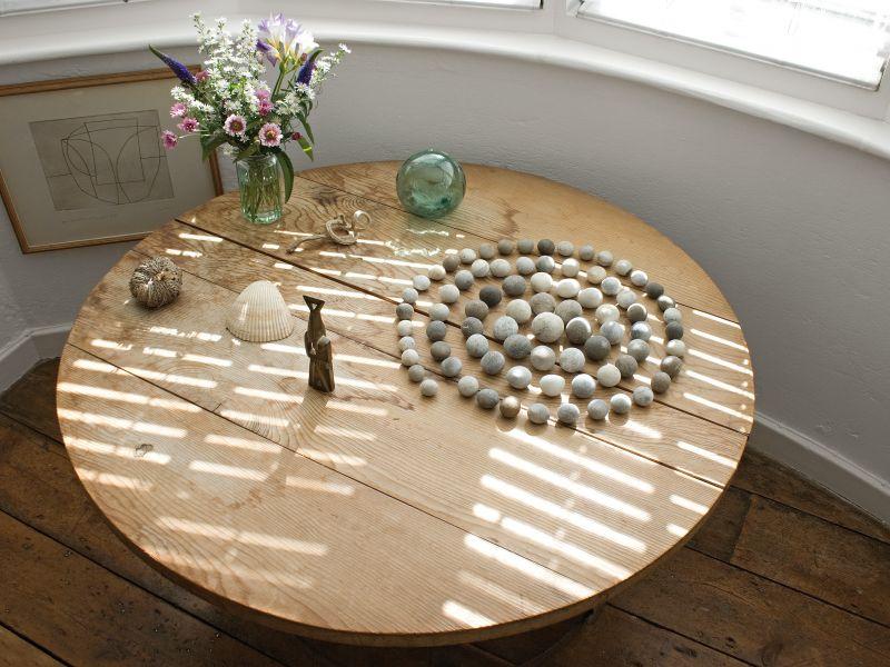 A highlight image for Spiral of pebbles - Copyright Paula Allitt