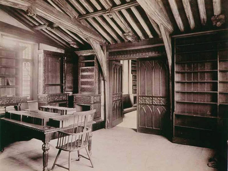 Lincoln Old library, 1879