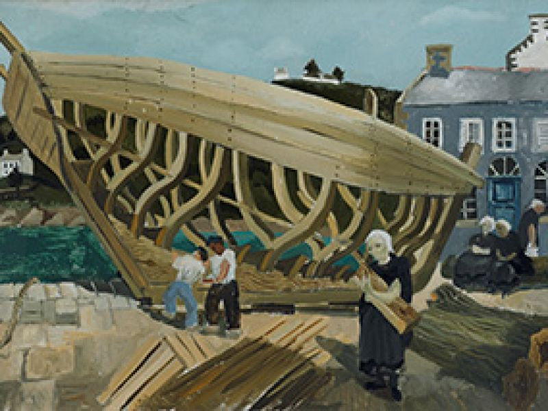 Highlight image for Sea to Shore: paintings by Alfred Wallis & Christopher Wood