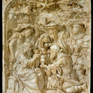 The Adoration of the Magi  Flemish,  c. 1540