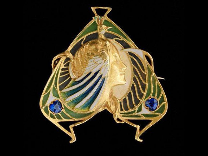 Brooch-pendant