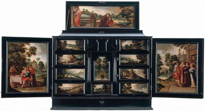 Cabinet with Scenes of the Prodigal Son