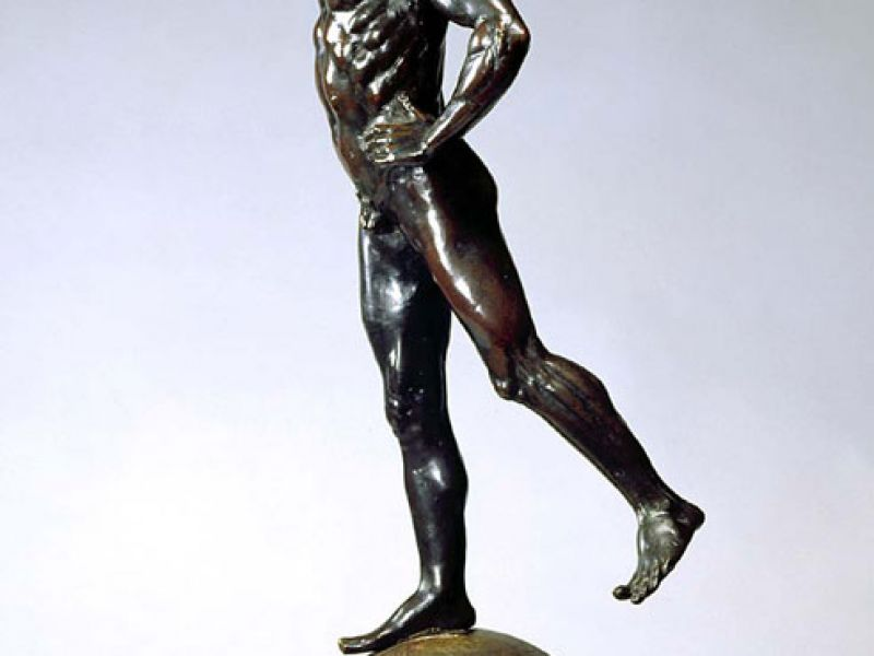 A figure of Mercury